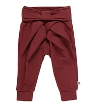 Cozy Me Bow Pants, Müsli by Green Cotton, Chocolate
