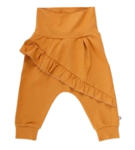 Cozy Me Frill Pants, Müsli by Green Cotton, Wood
