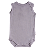 Woolly silk sleeveless body, Müsli by Green Cotton, Shark