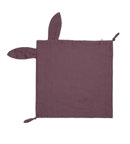 Sutteklud, Muslin Rabbit Blankie, GOTS certificeret, Müsli by Green Cotton, Flint