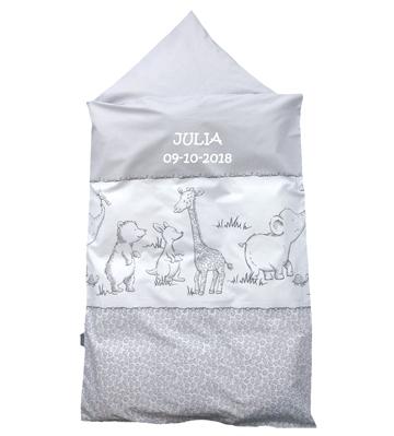 sengetøj med navn