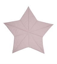 Babytæppe Star, Müsli by Green Cotton, Rose